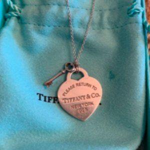 Tiffany & Co. Lock and Key Necklace